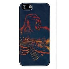 iPhone 5/5s Case Gorilla Warfare By James Fosdike Mobile phones