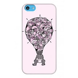 iPhone 5C Case Eureka_pink By Sweaty Eskimo Mobile phones