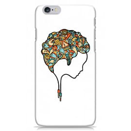 iPhone 6 Case Brain Music_white By Sweaty Eskimo Mobile phones