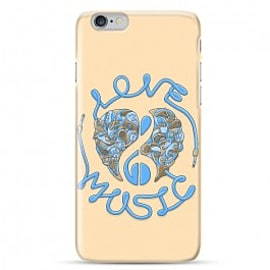 iPhone 6 Case Love Music_blue By Sweaty Eskimo Mobile phones