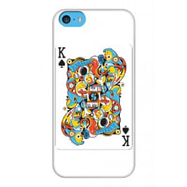 iPhone 5C Case King Of Spades By Sweaty Eskimo Mobile phones
