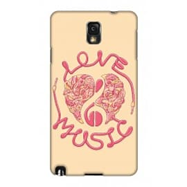 Samsung Galaxy Note 3 Case Love Music_red By Sweaty Eskimo Mobile phones