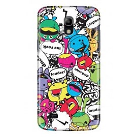 Samsung Galaxy S4 Mini Case Bundle By Uberpup Mobile phones