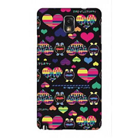 Samsung Galaxy Note 3 Case Hearts By Uberpup Mobile phones