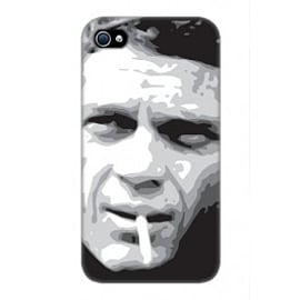 iPhone 4/4S Case Steve McQueen By VA Iconic Hollywood Mobile phones