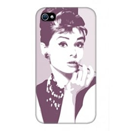 iPhone 4/4S Case Audrey Hepburn By VA Iconic Hollywood Mobile phones