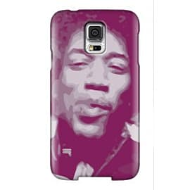 Samsung Galaxy S5 Case Hendrix By VA Iconic Music Mobile phones