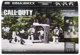 Mega Bloks Call of Duty Alpine Rangers Blocks and Bricks