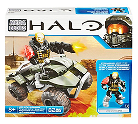 Mega Bloks Halo UNSC All-Terrain Mongoose Blocks and Bricks