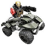 Mega Bloks Halo UNSC All-Terrain Mongoose screen shot 2