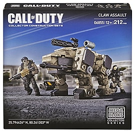 Mega Bloks Call of Duty 6855 - Claw Assault Blocks and Bricks