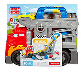 Mega Bloks First Builders Smash-n-Crash Rig Toy Blocks and Bricks