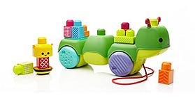 Mega Bloks First Builders Move-n-Groove Caterpillar Toy screen shot 1