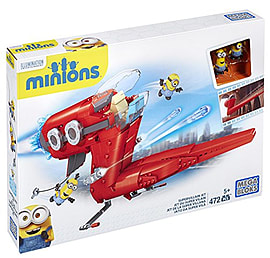 Mega Bloks Minions Supervillain Jet Blocks and Bricks