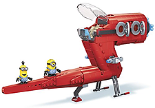 Mega Bloks Minions Supervillain Jet screen shot 1