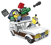 Mega Bloks Minions Movie Station Wagon Getaway screen shot 2