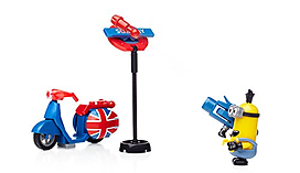 Mega Bloks Minions Small Playset - Scooter Escape screen shot 4