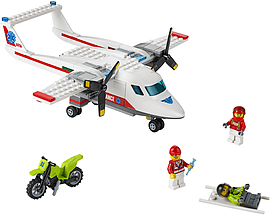 Lego City Ambulance Plane Blocks and Bricks