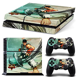 Official Street Fighter V PS4 Console and Controller Sticker Skins: Mitts (PS4) PS4