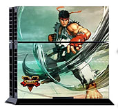 Official Street Fighter V PS4 Console and Controller Sticker Skins: Mitts (PS4) screen shot 1