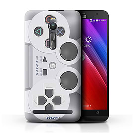 STUFF4 Phone Case/Cover for Asus Zenfone 2 ZE550ML/Playstation PS1 Design/Games Console Mobile phones