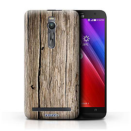 STUFF4 Phone Case/Cover for Asus Zenfone 2 ZE550ML/Driftwood Design/Wood Grain Effect/Pattern Mobile phones