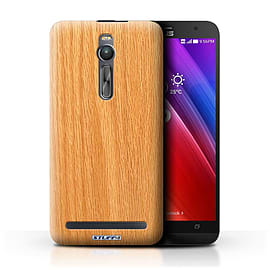 STUFF4 Phone Case/Cover for Asus Zenfone 2 ZE550ML/Pine Design/Wood Grain Effect/Pattern Mobile phones