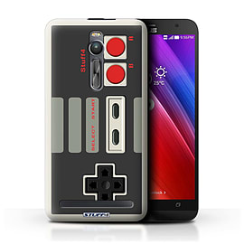 STUFF4 Phone Case/Cover for Asus Zenfone 2 ZE551ML/Nintendo Classic Design/Games Console Mobile phones