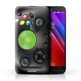 STUFF4 Phone Case/Cover for Asus Zenfone 2 ZE551ML/Xbox Design/Games Console Mobile phones