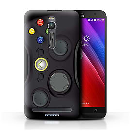STUFF4 Phone Case/Cover for Asus Zenfone 2 ZE551ML/Black Xbox 360 Design/Games Console Mobile phones