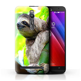 STUFF4 Phone Case/Cover for Asus Zenfone 2 ZE551ML/Sloth Design/Wildlife Animals Mobile phones