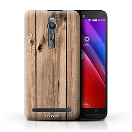 STUFF4 Phone Case/Cover for Asus Zenfone 2 ZE551ML/Plank Design/Wood Grain Effect/Pattern Mobile phones