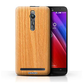 STUFF4 Phone Case/Cover for Asus Zenfone 2 ZE551ML/Pine Design/Wood Grain Effect/Pattern Mobile phones