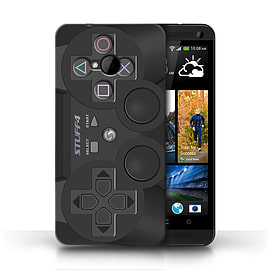 STUFF4 Phone Case/Cover for HTC One/1 M7/Playstation PS3 Design/Games Console Mobile phones