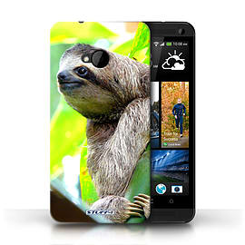 STUFF4 Phone Case/Cover for HTC One/1 M7/Sloth Design/Wildlife Animals Mobile phones