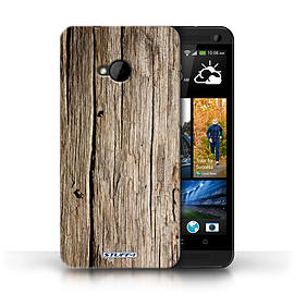 STUFF4 Phone Case/Cover for HTC One/1 M7/Driftwood Design/Wood Grain Effect/Pattern Mobile phones