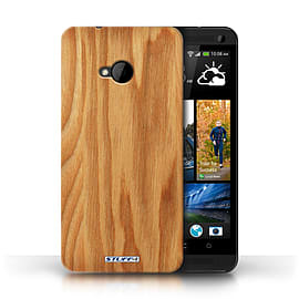 STUFF4 Phone Case/Cover for HTC One/1 M7/Oak Design/Wood Grain Effect/Pattern Mobile phones
