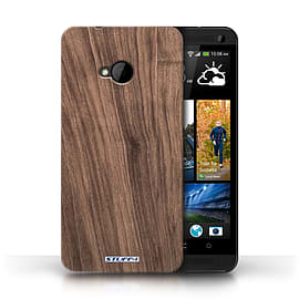 STUFF4 Phone Case/Cover for HTC One/1 M7/Walnut Design/Wood Grain Effect/Pattern Mobile phones