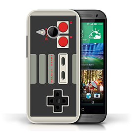 STUFF4 Phone Case/Cover for HTC One/1 Mini 2/Nintendo Classic Design/Games Console Mobile phones