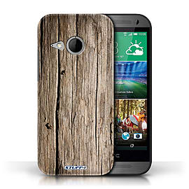 STUFF4 Phone Case/Cover for HTC One/1 Mini 2/Driftwood Design/Wood Grain Effect/Pattern Mobile phones