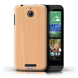 STUFF4 Phone Case/Cover for HTC Desire 510/Beech Design/Wood Grain Effect/Pattern Mobile phones