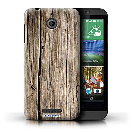 STUFF4 Phone Case/Cover for HTC Desire 510/Driftwood Design/Wood Grain Effect/Pattern Mobile phones