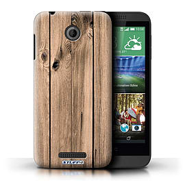 STUFF4 Phone Case/Cover for HTC Desire 510/Plank Design/Wood Grain Effect/Pattern Mobile phones