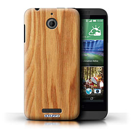 STUFF4 Phone Case/Cover for HTC Desire 510/Oak Design/Wood Grain Effect/Pattern Mobile phones