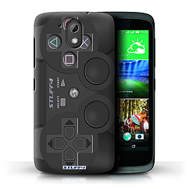 STUFF4 Phone Case/Cover for HTC Desire 526G+/Playstation PS3 Design/Games Console Mobile phones
