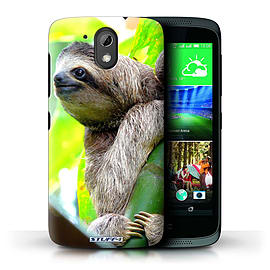 STUFF4 Phone Case/Cover for HTC Desire 526G+/Sloth Design/Wildlife Animals Mobile phones