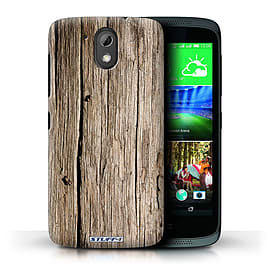 STUFF4 Phone Case/Cover for HTC Desire 526G+/Driftwood Design/Wood Grain Effect/Pattern Mobile phones