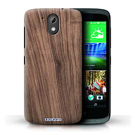 STUFF4 Phone Case/Cover for HTC Desire 526G+/Walnut Design/Wood Grain Effect/Pattern Mobile phones