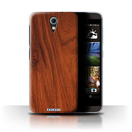 STUFF4 Phone Case/Cover for HTC Desire 620/Mahogany Design/Wood Grain Effect/Pattern Mobile phones