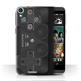 STUFF4 Phone Case/Cover for HTC Desire 820/Playstation PS3 Design/Games Console Mobile phones